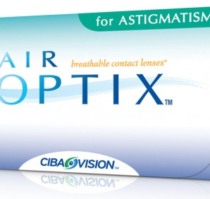 линзы AIR OPTIX for Astigmatism