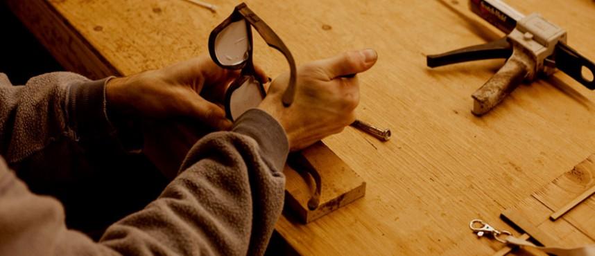 Изготовление очков